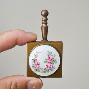 Vintage Brass Pocket Ashtray